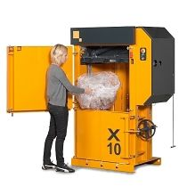 Bramidan X10 HD Baler #recycling #verticalbaler #heavydutybaler #stockroombaler #reducereuserecycle