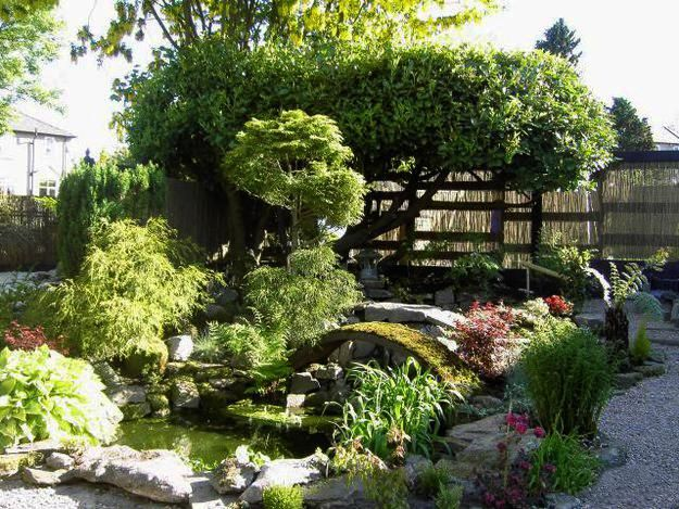 10 best the five gardens images on pinterest japanese for Small japanese garden designs
