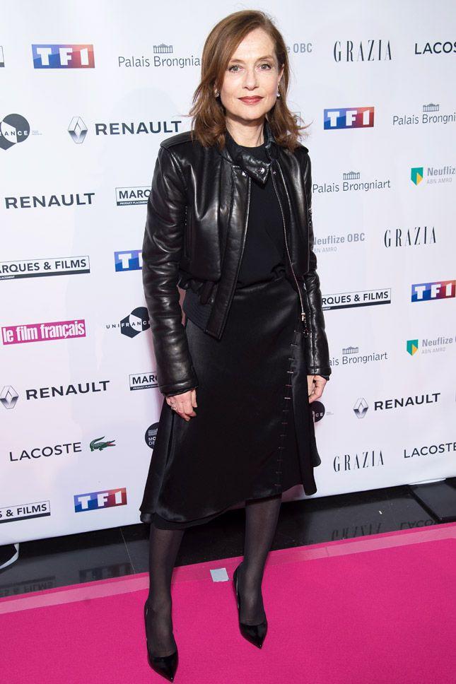 Изабель Юппер в Louis Vuitton на церемонии Trophées du Film Français в Париже