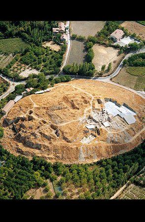 The tell of Arslantepe in the Malatya plain