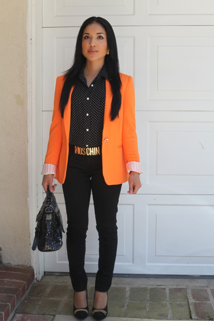 23 best images about STYLE|Orange/Yellow blazer on