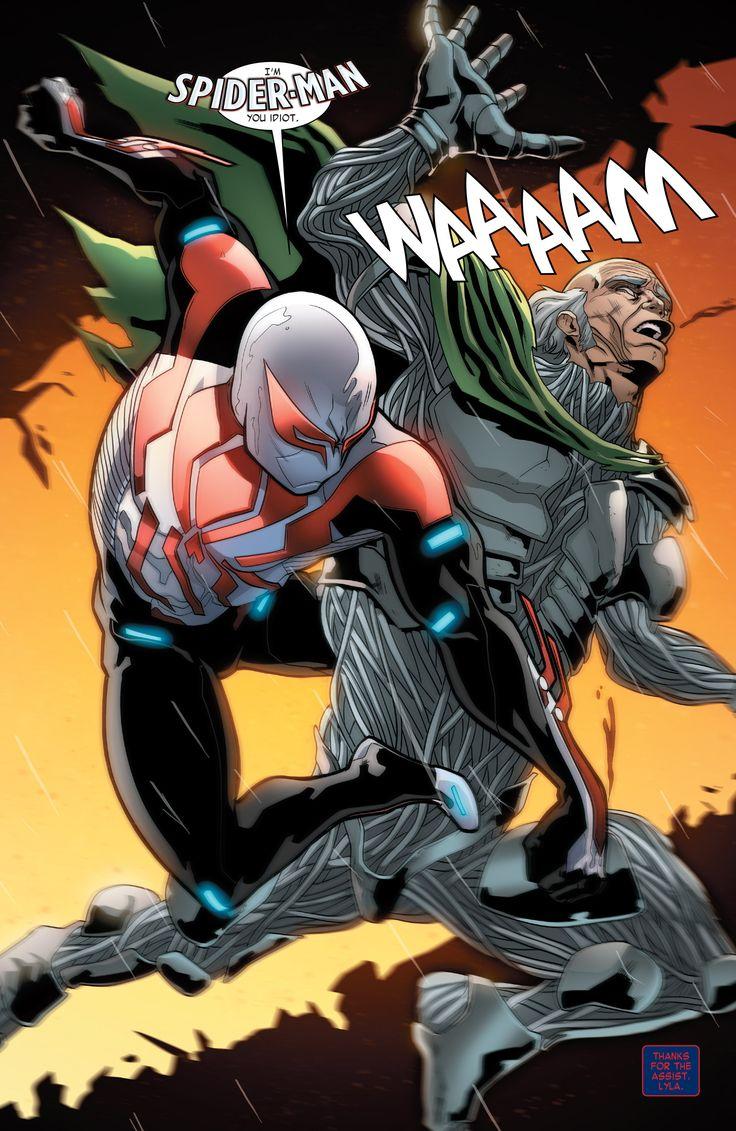 Bacakomik | Baca komik Spider Man 2099 Chapter 003