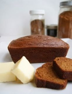 Pumpkin Spice Bread made with Almond Flour Recipe I can grind almonds in the dry blender to make the flour! Such simple ingredients.