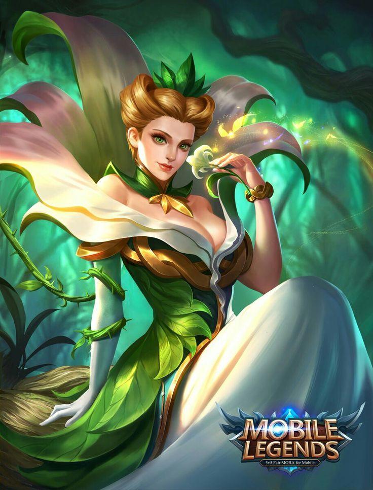 """Mobile legends - Aurora """"Natures Throne"""""""