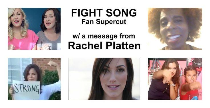 Rachel Platten - Fight Song ($250k charity supercut)