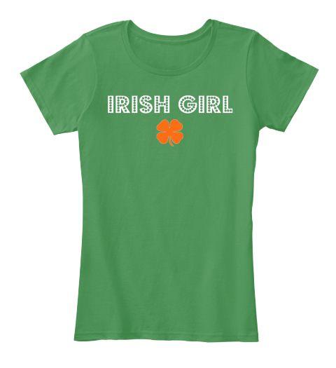 Irish Girl Kelly Green  Women's T-Shirt Front