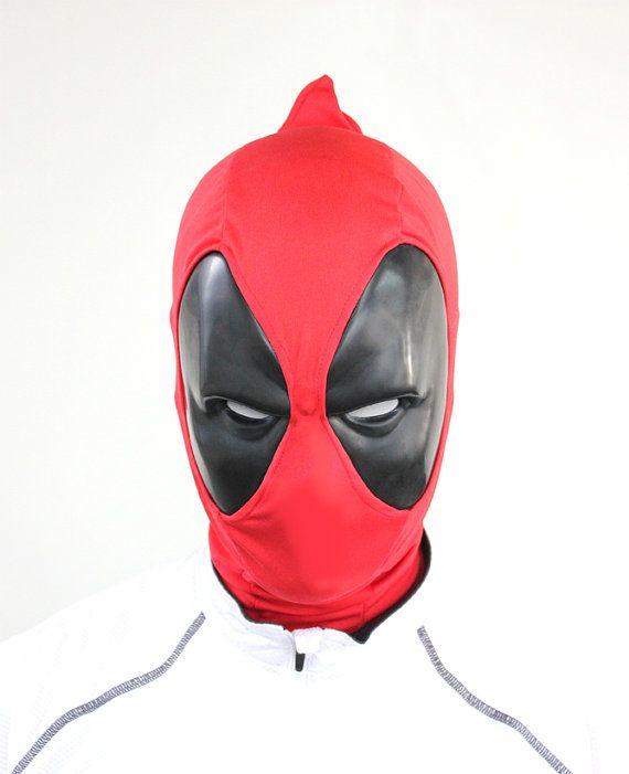 Deadpool mask by IlustraStudios on Etsy