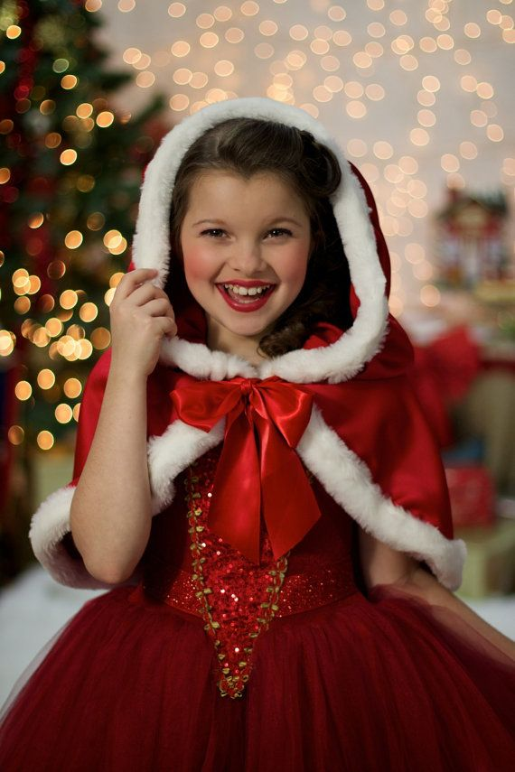 Red Christmas Ball Gown Princess Costume Party Dress By