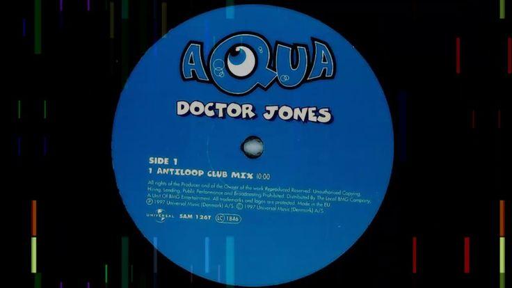Aqua - Doctor Jones (Antiloop Club Mix) | 90s PROGRESSIVE TRANCE