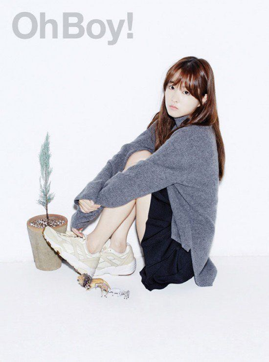 Park Bo Young is casual chic for 'OhBoy!' magazine | allkpop.com
