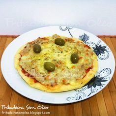 Pizza de Liquidificador na AirFryer | Fritadeira sem Óleo - AirFryer