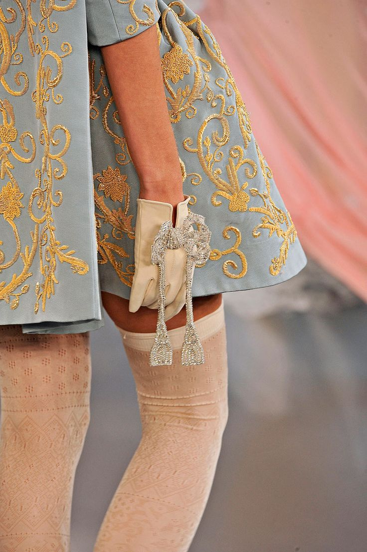 Holy Marie Antoinette! I LOVE this designer! Meadham Kirchoff - Spring '12 Collection