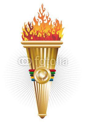 Sports antorcha of triumph