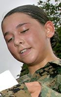 Marine Cpl. Jennifer M. Parcell  Died February 7, 2007 Serving During Operation Iraqi Freedom  20, of Bel Air, Md.; assigned to Combat Logistics Regiment 3, 3rd Marine Logistics Group, III Marine Expeditionary Force, Okinawa, Japan; died Feb. 7 while supporting combat operations in Anbar province, Iraq.