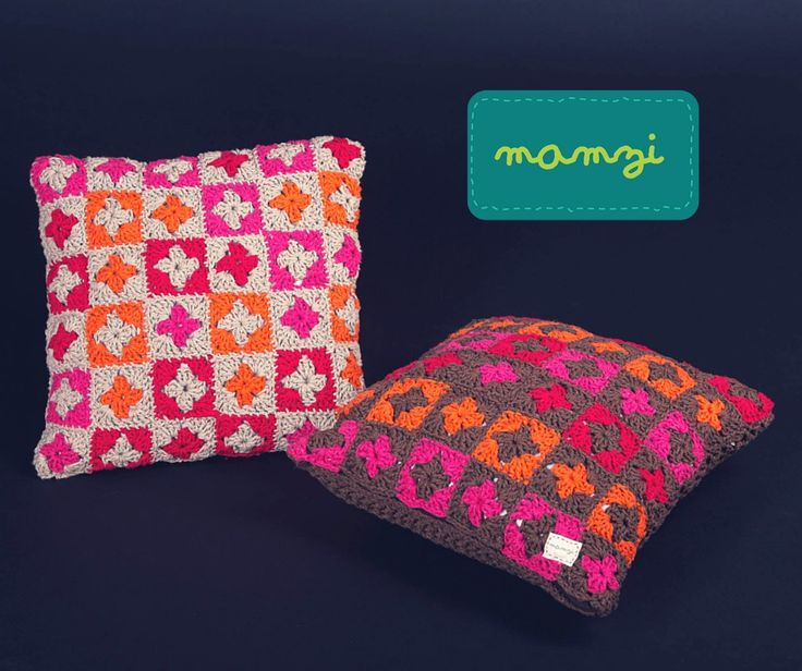 mamzi - the granny chic boutique crochet cushions http://mamzi.bigcartel.com/