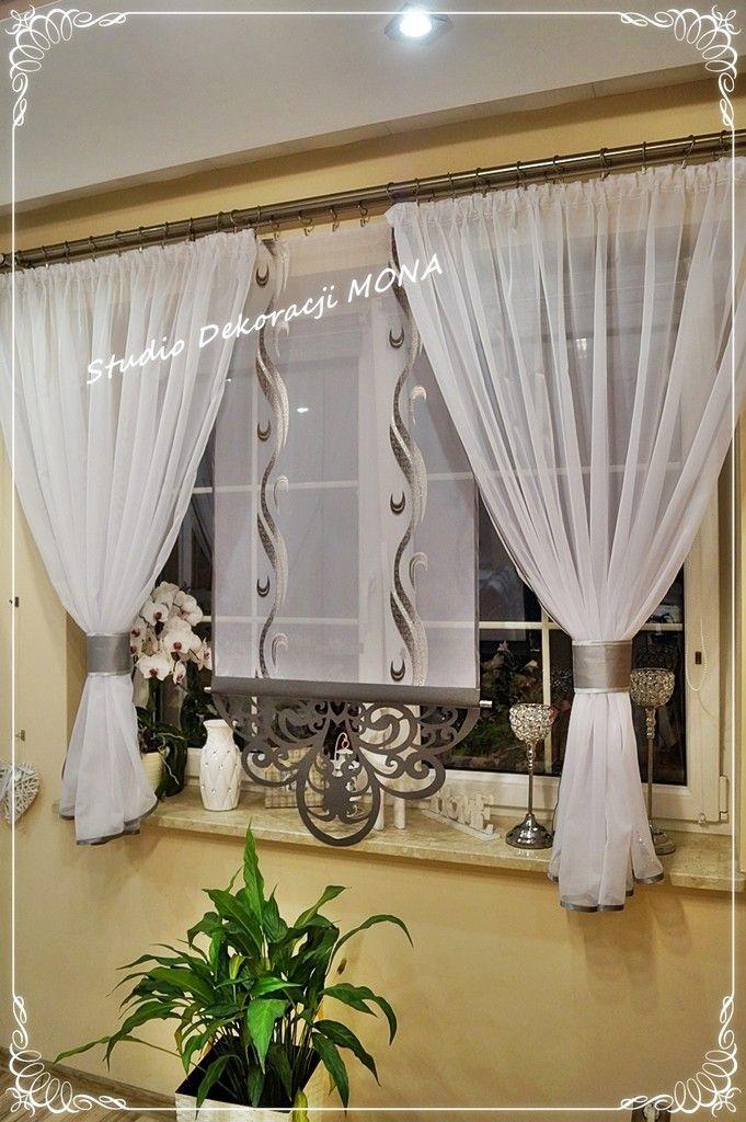 Komplet Azur Grey Azurowe Ekran Panel Woal Gotowa 7309759696 Allegro Pl Wiecej Niz Aukcje Curtain Decor Home Decor Curtains
