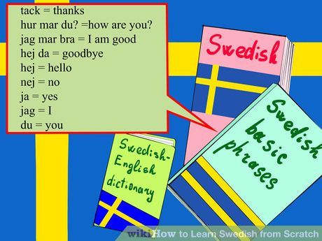 Image titled Learn Swedish from Scratch Step 1