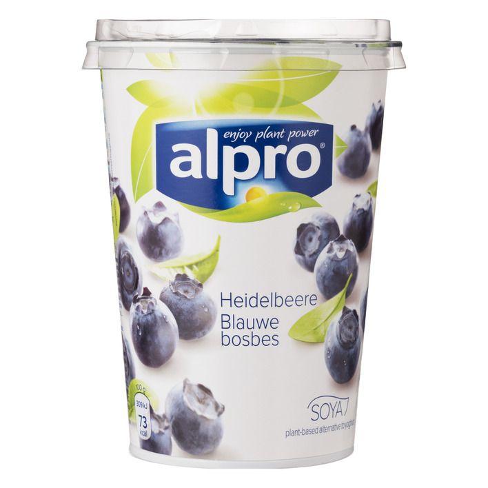 Alpro Plantaardige variatie op yoghurt bosbes #vegan