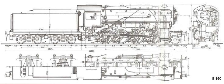 Narrow Gauge Locomotive Builders Railroad blueprints and drawings - copy blueprint engines bp3501ctc1