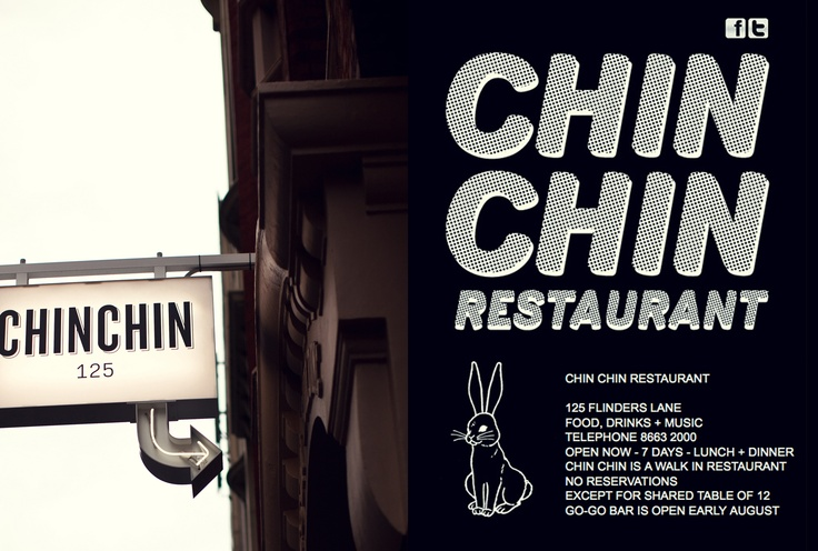 Cool restaurant signage in Melbourne, Australia, via What Katie Ate