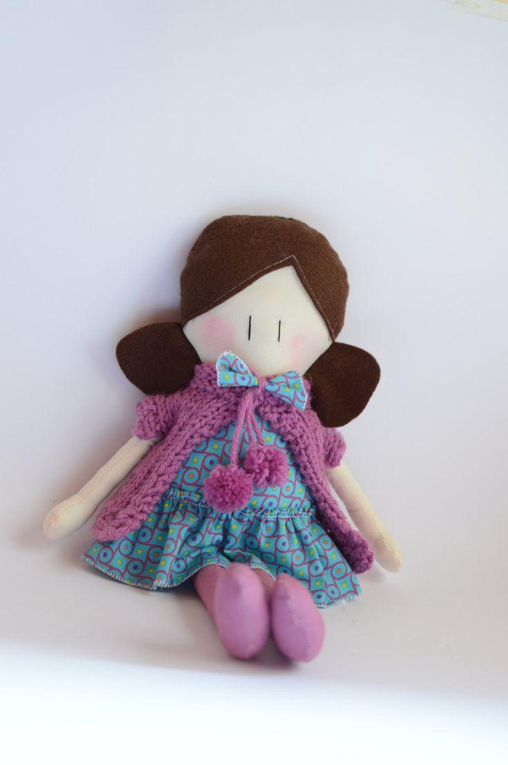 Le Amicoccole: bambole in tessuto fatte a mano con amore, amiche portatrici di coccole. Le trovi sul mio Etsy Shop.