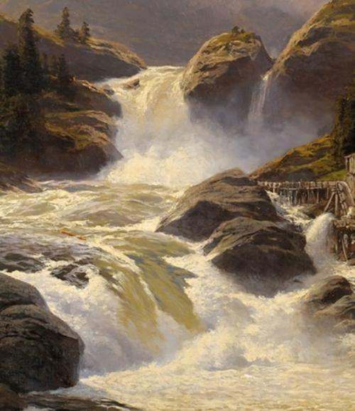 Норвежские водопады от Karl Von Eckenbrecher / Блог им. als / Burnovoding.ru - каякинг, гребной слалом, рафтинг, фристайл на бурной воде, катамараны, байдарки, экстремальный сплав