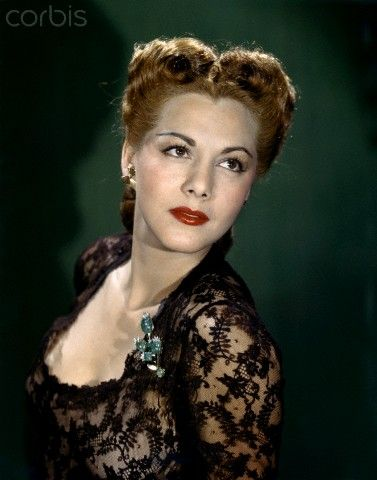 Dominican-born actress Maria Montez