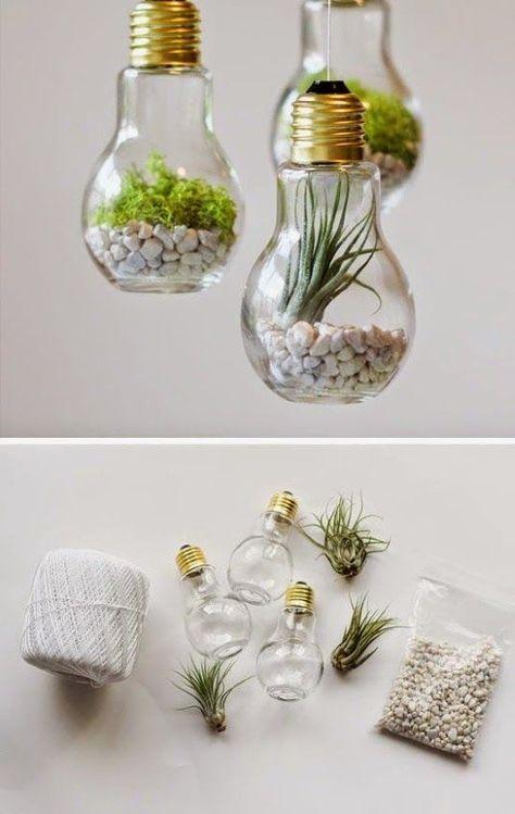 DIY Projekte mit alten Glühbirnen – 25 kreative Bastelideen
