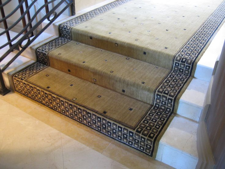 Amazing Contemporary Runners For Stairs And Halls With Elegant Plaid Pattern Border  Design   Home Depot Carpet Runners For Stairs, Rug Runners For Stairs.