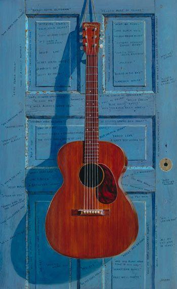 1955 Martin Guitar - Harry Jarman: Maybe, Martin Guitar, Guitar, Boy