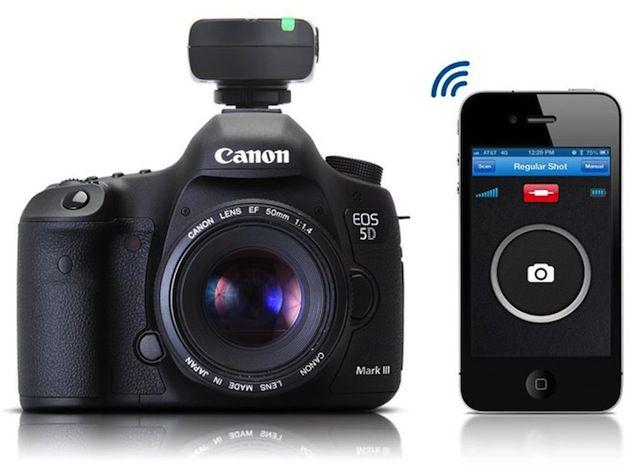 iOS 'appcessory' for latest Canon DSLR cameras