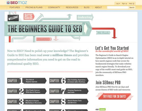 8 SEO tutorials for beginners