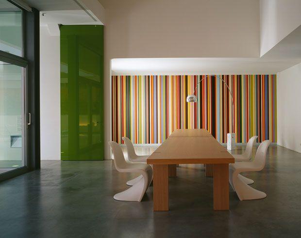 Più di 25 fantastiche idee su Pareti A Righe su Pinterest  Pareti a strisce grigie, Pareti a ...
