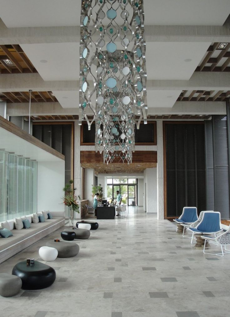 Long Beach Hotel by Keith Interior Design & M2k Architecture, in Mauritius