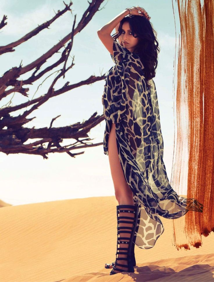 Shraddha Kapoor teases us with her delish curves for a photoshoot for Vogue India. #Style #Bollywood #Fashion #Beauty