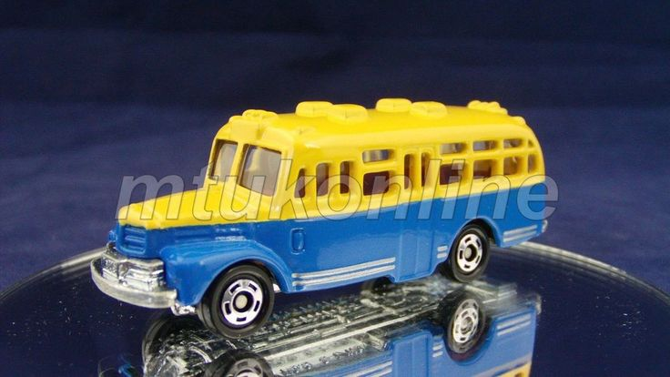 TOMICA 6 ISUZU BONNET BUS | 1/110 | CHINA | 35TH ANNIVERSARY | BLACK BOX