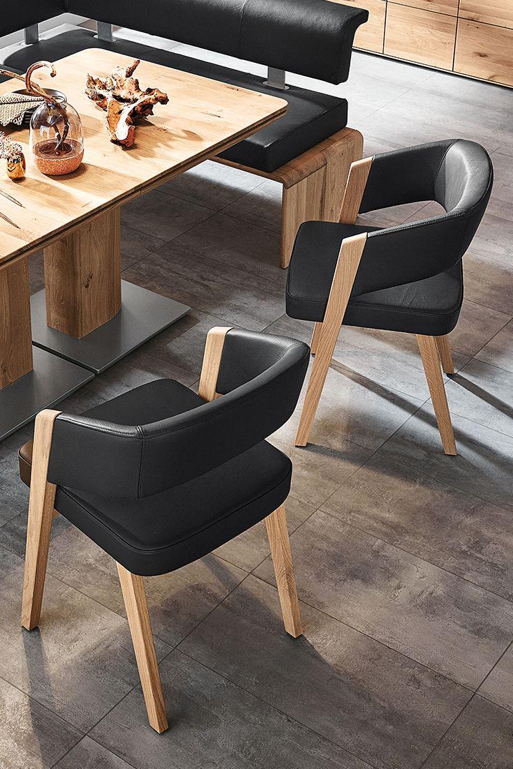 Decker Essgruppe Lavaro Mit Tisch 2 Stuhlen Speisezimmereinrichtung Mobelideen Anbauwand Wohnzimmer