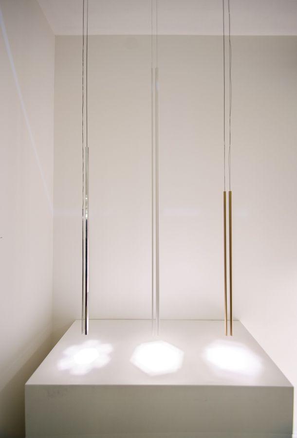 Rutil lamps, Euroluce 2017 #luxury #lighting #design #LED #LEDlamp  #minimalist #interior #homedecor #Euroluce #Euroluce2017 #exhibition #Inarchi
