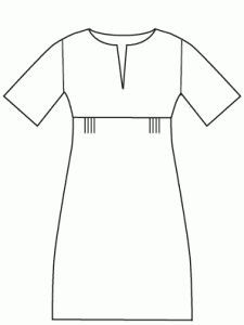 Wish i could make this dress.....  Everyday Chic Dress - Multisize sewing pattern