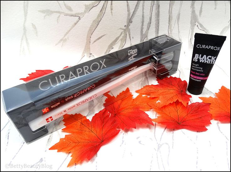 Curaprox black is the new white !