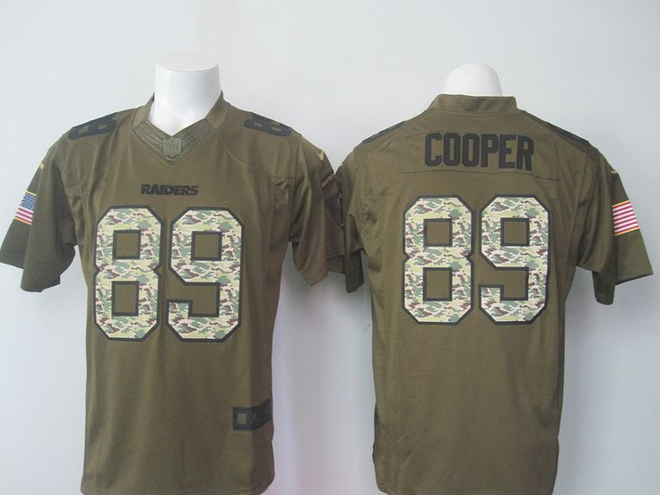 NFL Jersey's Youth Oakland Raiders Amari Cooper Nike White Game Jersey