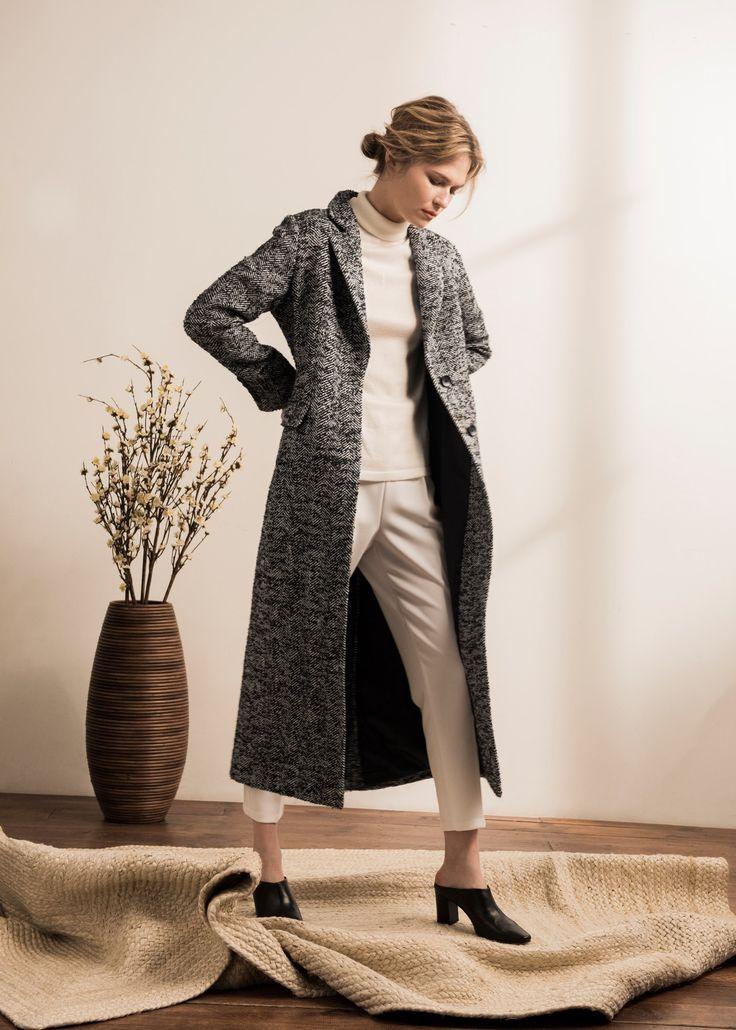 Женское пальто. Новая коллекция Laplandia Весна / Лето 2017. #Coat #Women #Lookbook