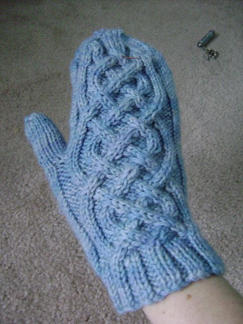 ... | FUN WITH YARN | Pinterest | Mittens, Celtic and Mittens Pattern