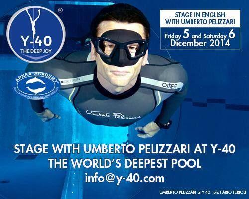 Stage with Umberto Pelizzari at Y-40