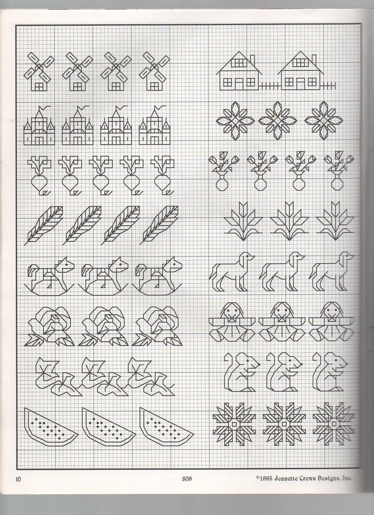 BACKSTITCH BORDERS