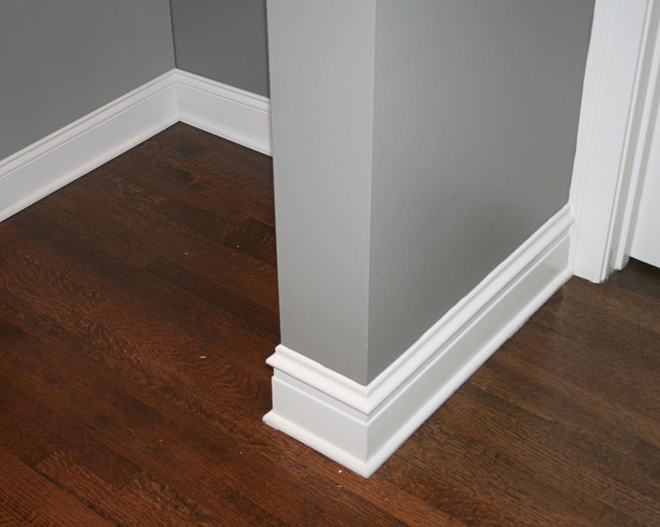 Color Of Shoe Molding Around Painted Cabinets