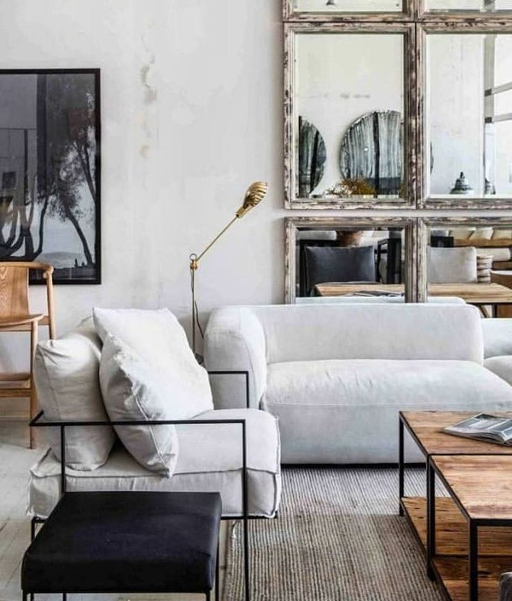 Lovely living room with comfy fluffy couches – House of Hipsters – Home Decor Ideas, DIY Decorating, Style Expert, Mid-Century Modern