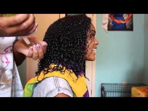 How to Define: Heat Damaged Curls !! - YouTube