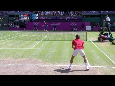 [HD] Roger Federer vs. Andy Murray Olympic 2012 Final HIGHLIGHTS - YouTube