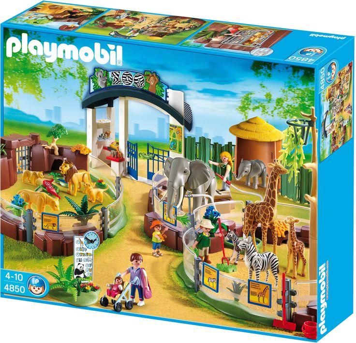 Playmobil 4850 Large Zoo: Amazon.co.uk: Toys & Games ...